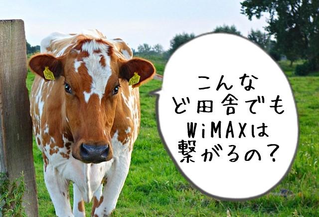 WiMAXは田舎だとどの程度つながるの?自分の実家を調べてみた