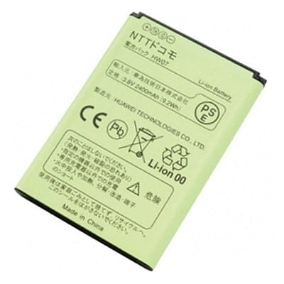 HW-02Gバッテリー、電池パック