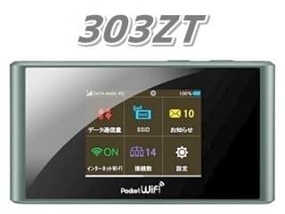 Pocket WiFi 303ZT アイキャッチ画像