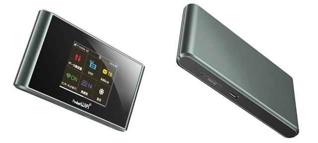 Pocket WiFi 305ZT本体カラー