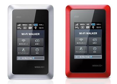 Wi-Fi WALKER WiMAX2+ HWD14本体カラー