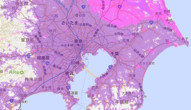 wimax440mbp関東対応エリア