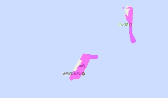 端島(はしま)軍艦島WiMAX対応状況