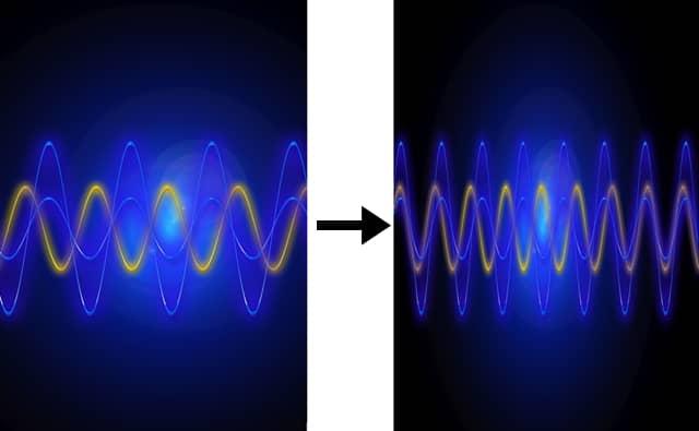 256QAMの波の合成