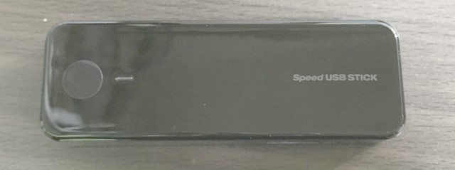 Speed USB STICK U01正面からの画像