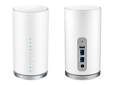 Speed Wi-Fi HOME L01sの裏表デザイン