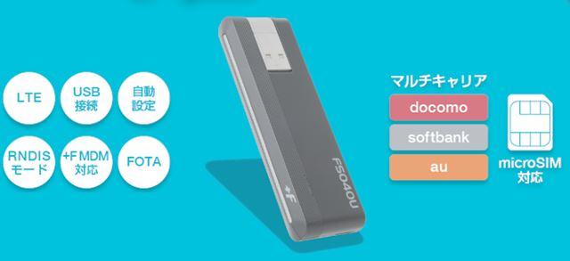 富士ソフト +F FS040U