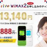 DriveWiMAX2 株式会社Wiz(ワイズ)
