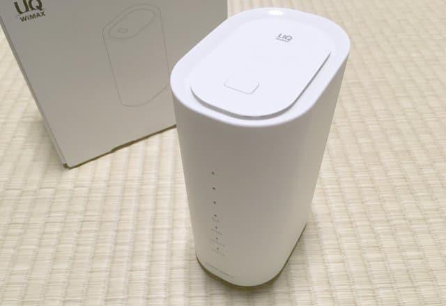 WiMAX HOME 01 本体画像