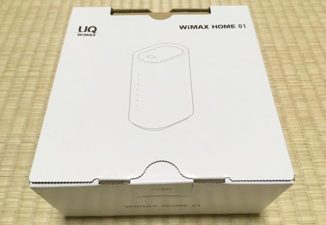 WiMAX HOME 01パッケージ