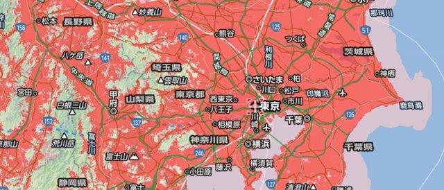 Airターミナル3 関東の対応エリア