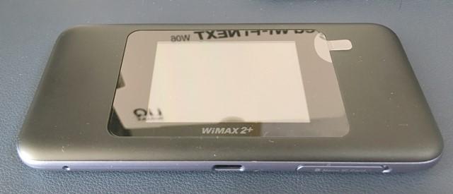 Speed Wi-Fi NEXT W06本体正面画像