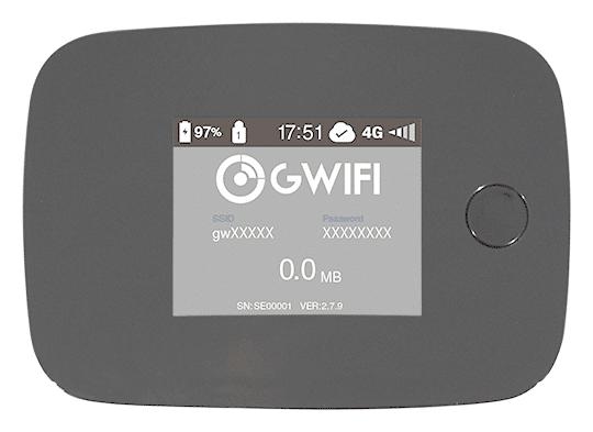 GWiFi My-Fiでレンタルできる端末