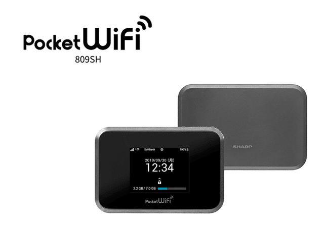 ソフトバンクPocket WiFi 809SH