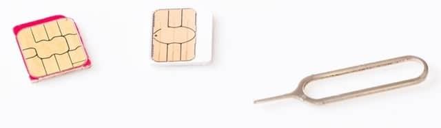 W03レビュー SIMカード
