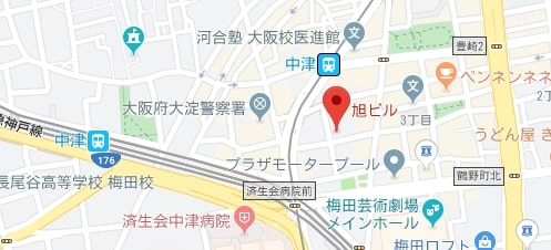 BroadWiMAX 梅田センター店マップ