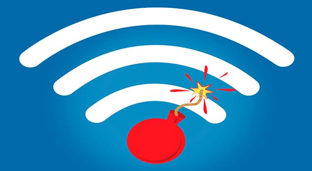 WiMAX電波の傍受はない?