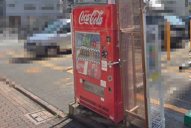 コカ・コーラの自動販売機