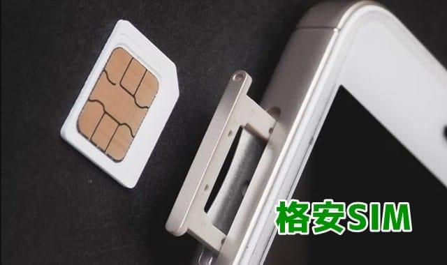 格安SIMのネット回線