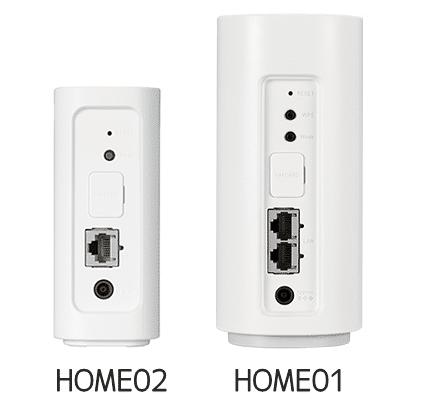 HOME02と01 背面サイズ比較