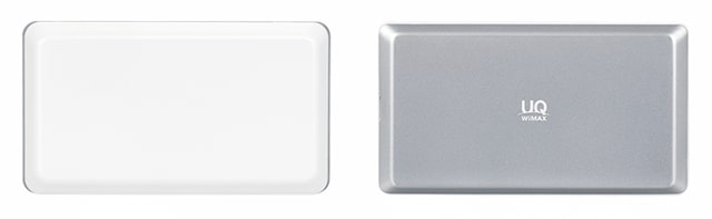 WX06とWX05ホワイトの背面デザイン