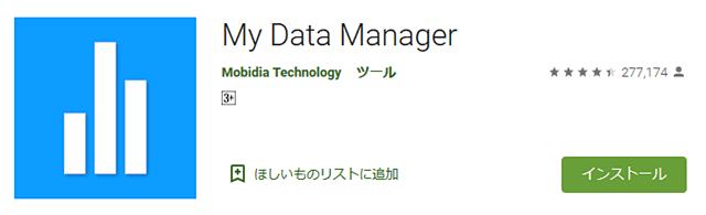 マイデータマネージャー