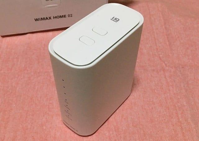 WiMAX HOME 02本体