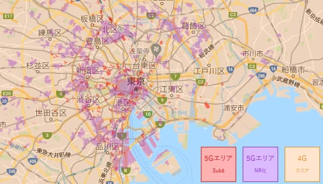 2021/7 WiMAX5G対応エリア